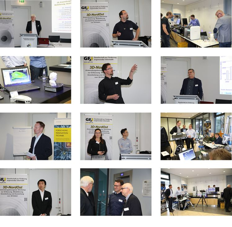 Impressionen vom Workshop 3D-NordOst 2016