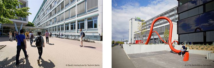 Beuth University of Applied Sciences Berlin and HTW University of Applied Sciences Berlin